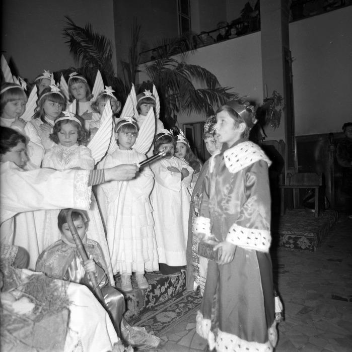 Jasełka w kościele św. Brunona,1977 r. [18]