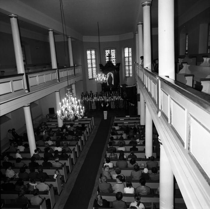 Występ śląskiego chóru w kościele ewangelickcim [15]