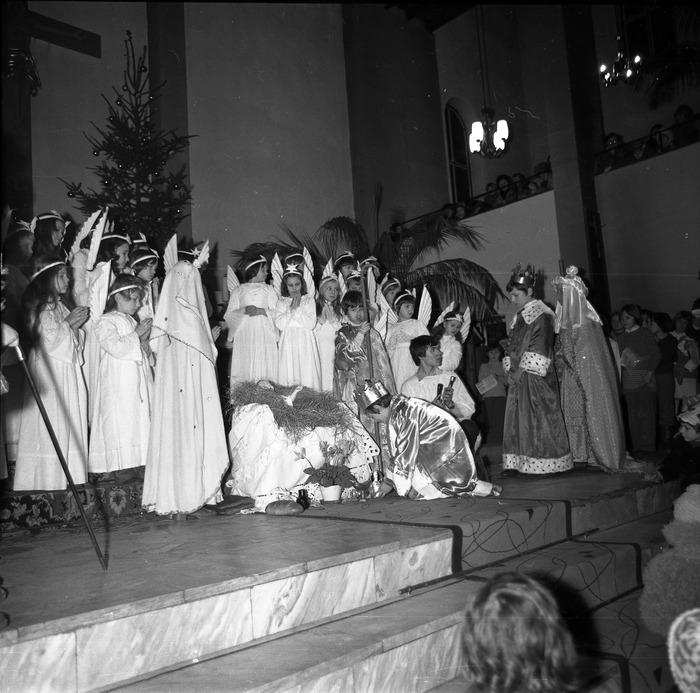 Jasełka w kościele św. Brunona,1978 r. [4]