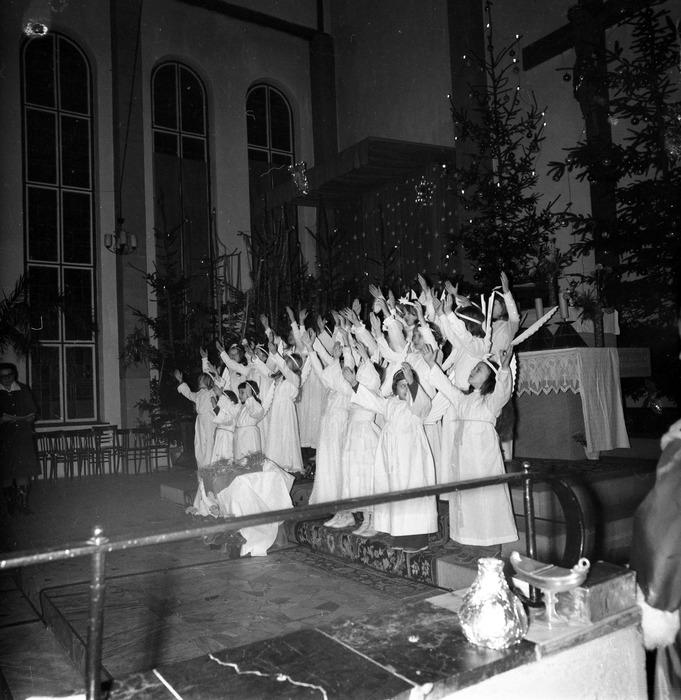 Jasełka w kościele św. Brunona,1977 r. [5]
