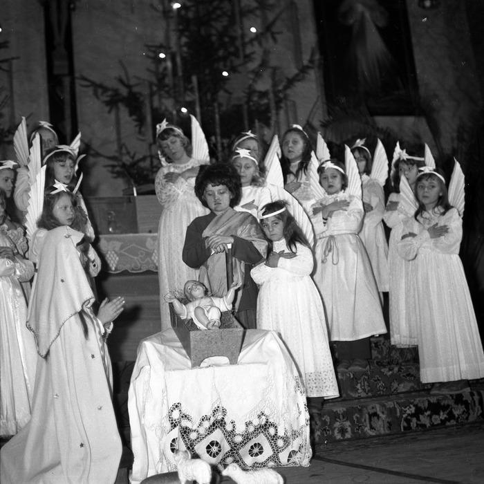 Jasełka w kościele św. Brunona,1979 r. [1]