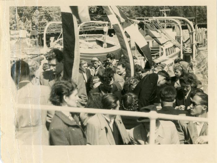 "Rejs statkiem ""M. Fornalska"" - lata 50. XX w. [2]"