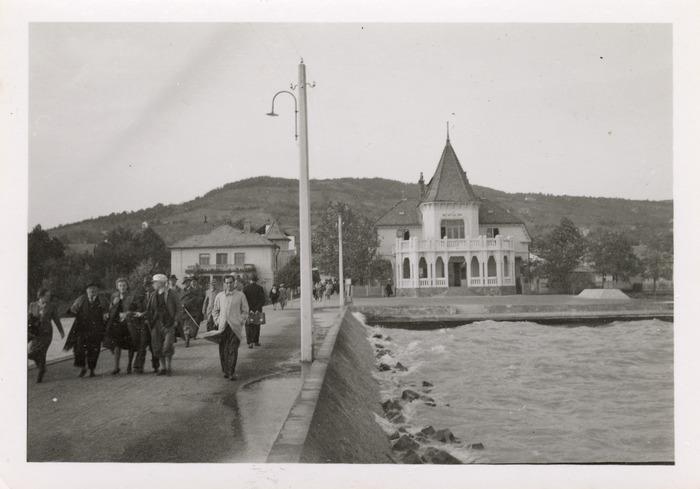 Maria Cichosz podczas internowania na Węgrzech [5]