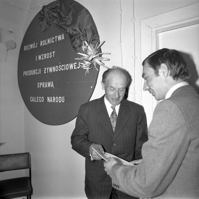Spotkanie w dojrzewalni serów, 1978 r. [1]