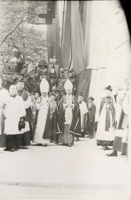 Pogrzeb serca Józefa Piłsudskiego w Wilnie [17]