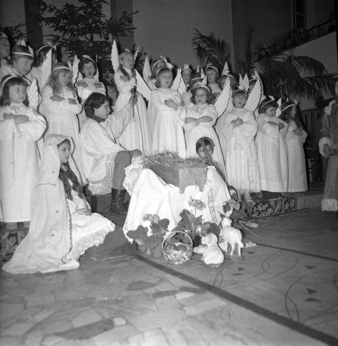 Jasełka w kościele św. Brunona,1977 r. [2]