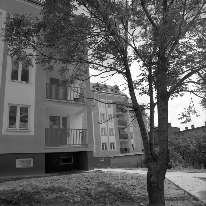 Budynek mieszkalny przy ul. Sikorskiego 12.