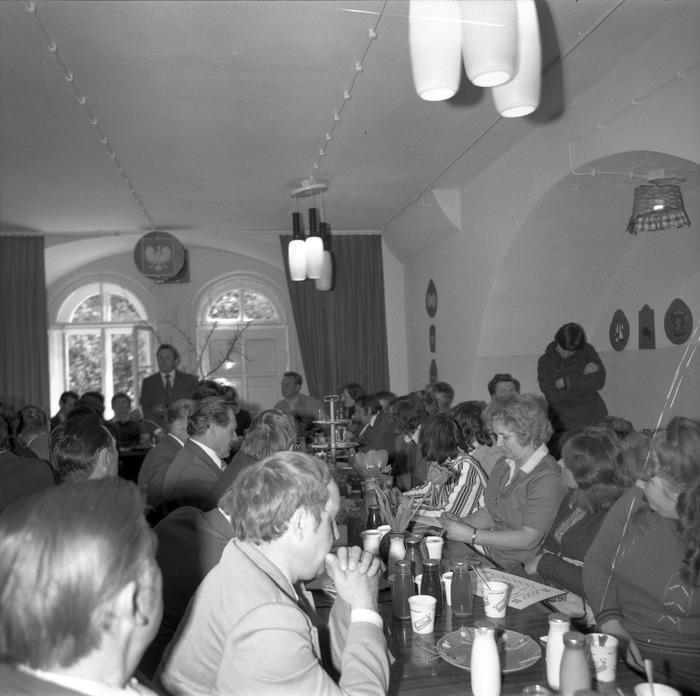 Spotkanie w dojrzewalni serów, 1978 r. [3]