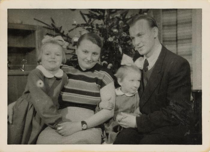 Leopold Arcichowski z rodziną [1]