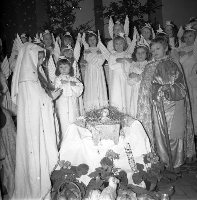 Jasełka w kościele św. Brunona,1977 r. [22]