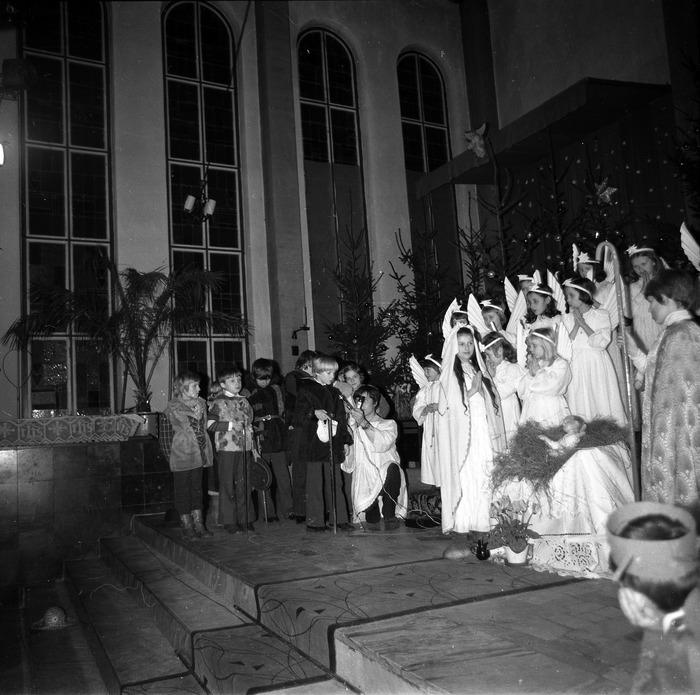 Jasełka w kościele św. Brunona,1978 r. [2]