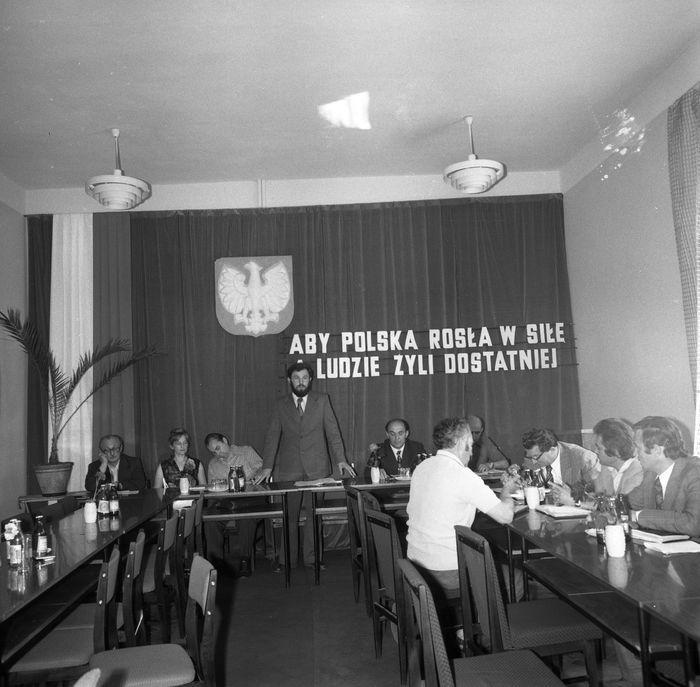 Uroczysta Sesja Miejskiej Rady Narodowej, 1975 r. [17]