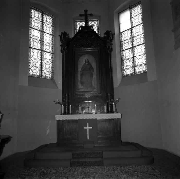 Ołtarz kościoła ewangelickiego [8]