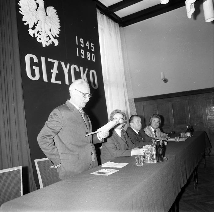 Zjazd Towarzystwa Miłośników Ziemi Giżyckiej, 1980 r.  [1]