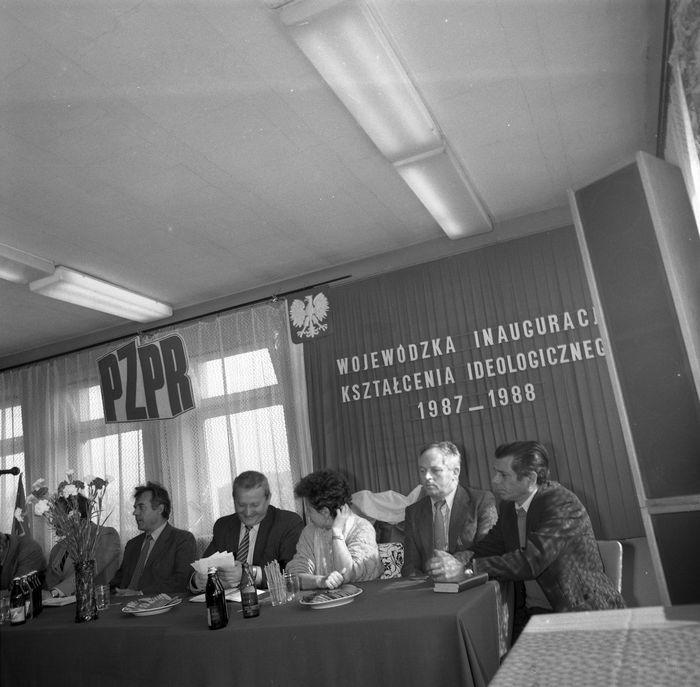 Wojewódzka Inauguracja Kształcenia Ideologicznego, 1987 r. [19]