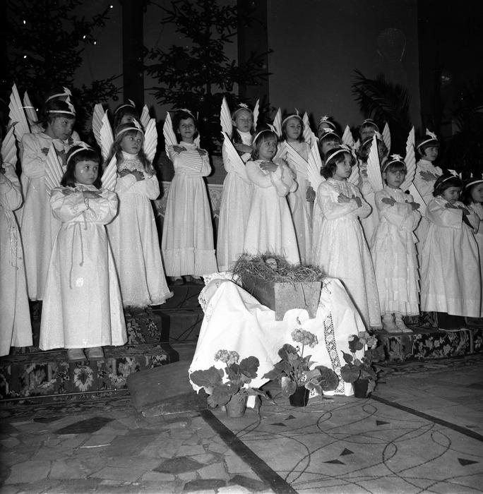 Jasełka w kościele św. Brunona,1977 r. [4]