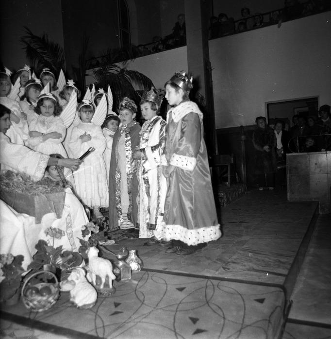 Jasełka w kościele św. Brunona,1977 r. [7]