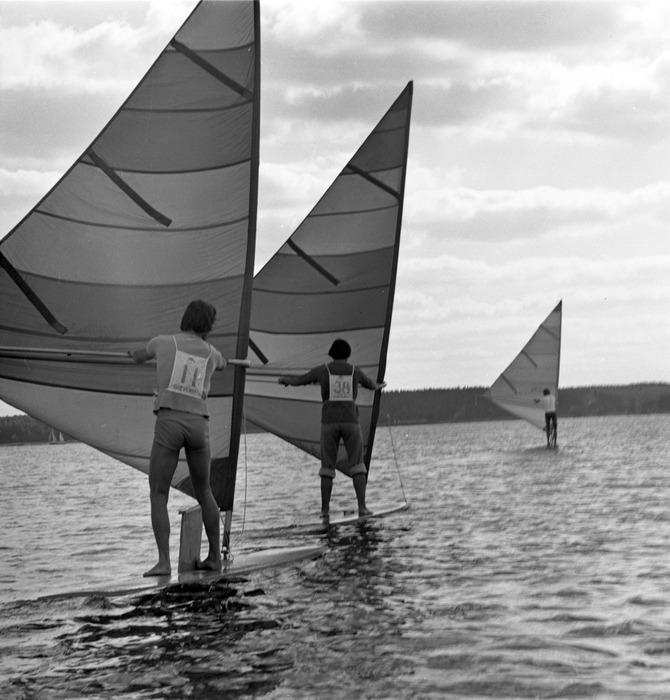 Windsurferzy na Niegocinie [1]