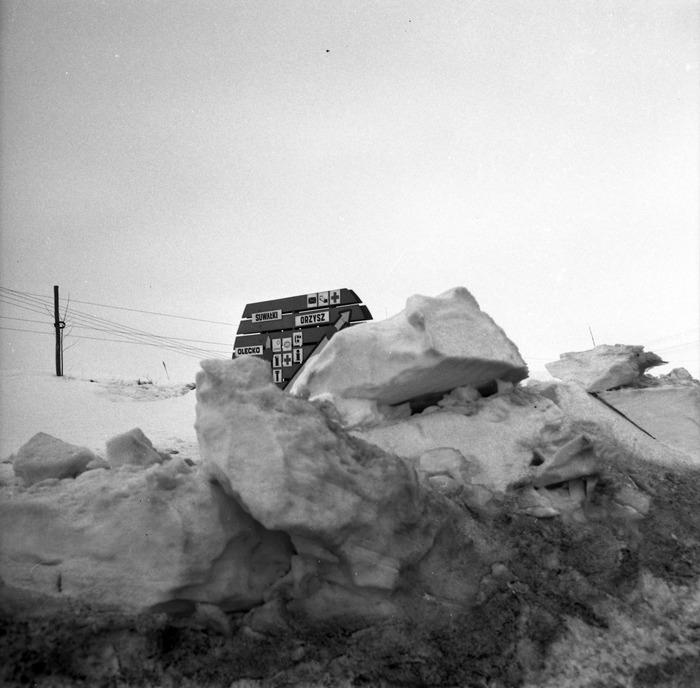 Zima stulecia na mazurskich drogach [11]