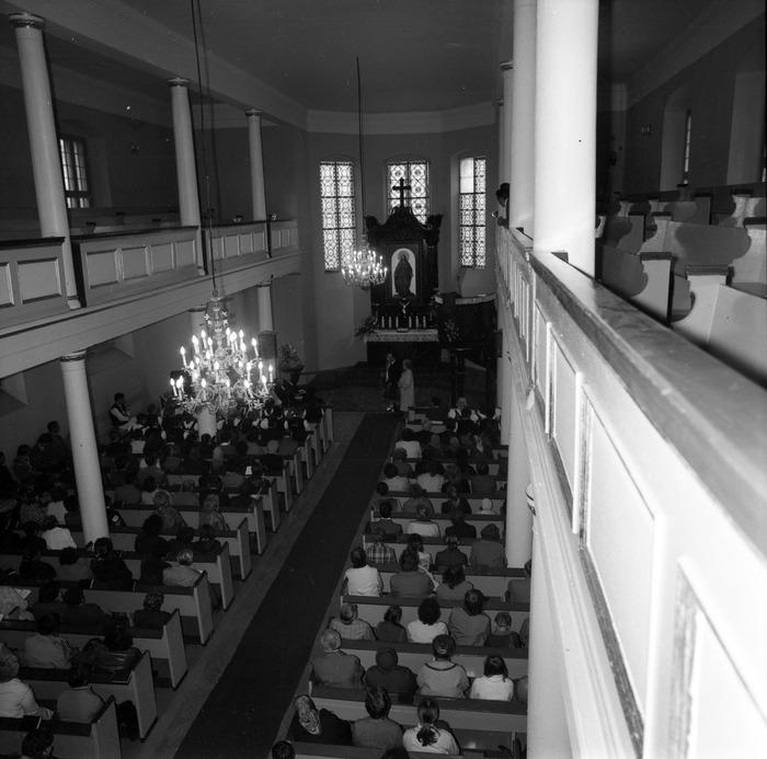 Nabożeństwo w kościele ewangelickim [8]