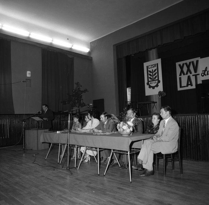 """Obchody 25-lecia """"Łuczanki"""" w MDK, 1983 r. [6]"""