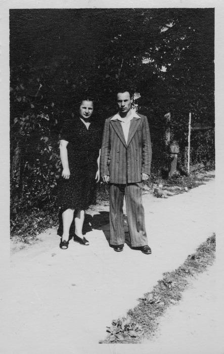 Anna Matyszczak z Władysław Łuńskim