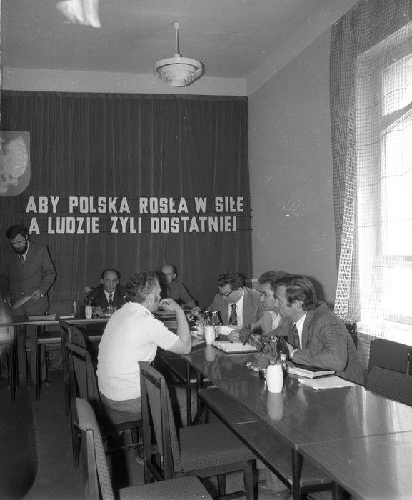 Uroczysta Sesja Miejskiej Rady Narodowej, 1975 r. [11]