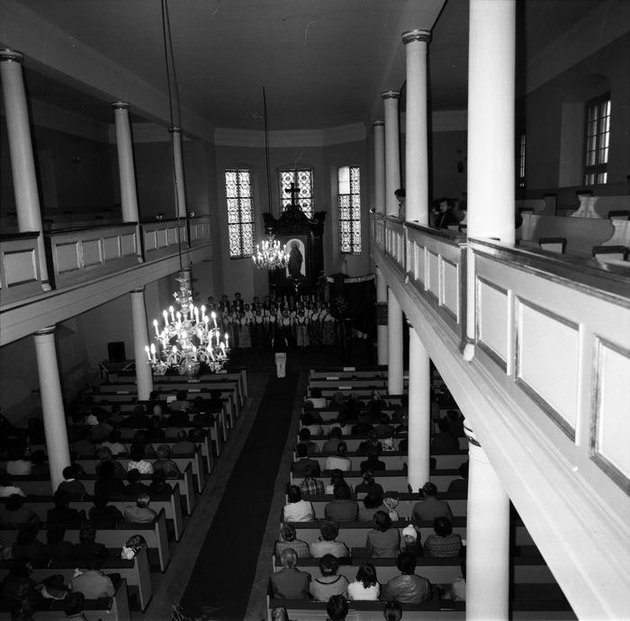Występ śląskiego chóru w kościele ewangelickcim [8]
