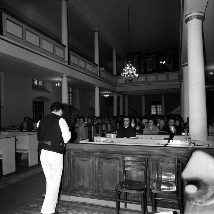 Występ śląskiego chóru w kościele ewangelickcim [21]