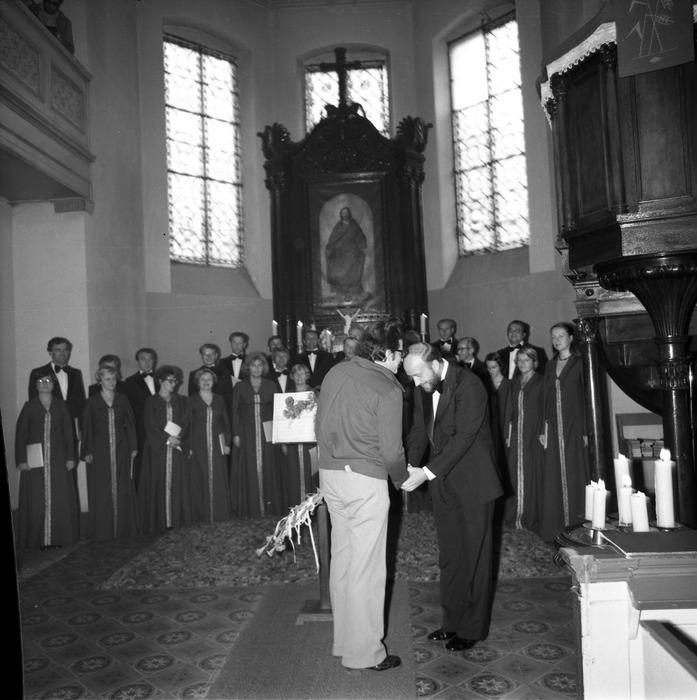 Występ chóru w kościele ewangelickim [4]