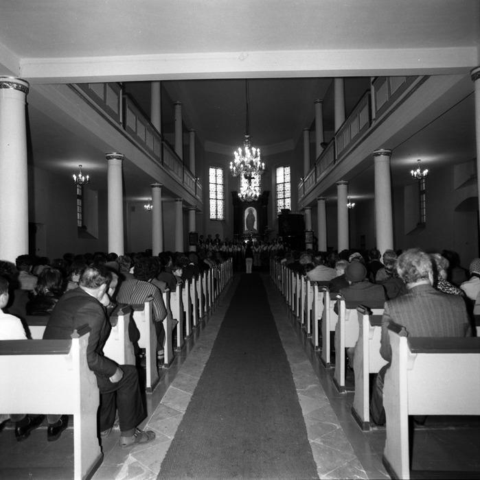 Występ śląskiego chóru w kościele ewangelickcim [14]