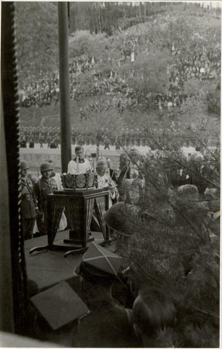 Pogrzeb serca Józefa Piłsudskiego w Wilnie [56]