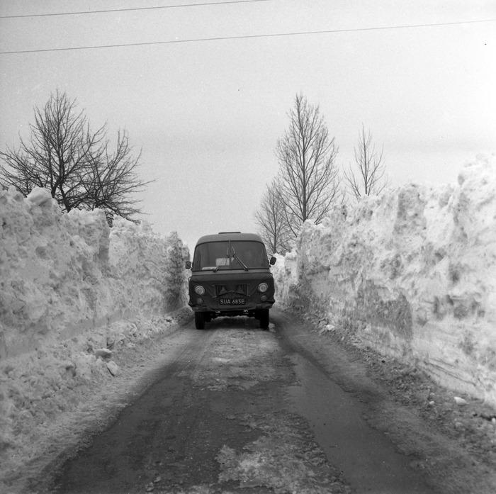 Zima stulecia na mazurskich drogach [5]