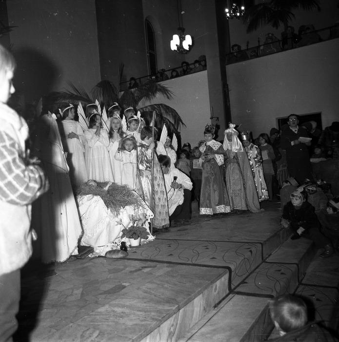 Jasełka w kościele św. Brunona,1978 r. [3]