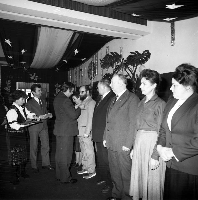 Uroczystości Dnia Handlowca WSS Społem w restauracji Mazurska.