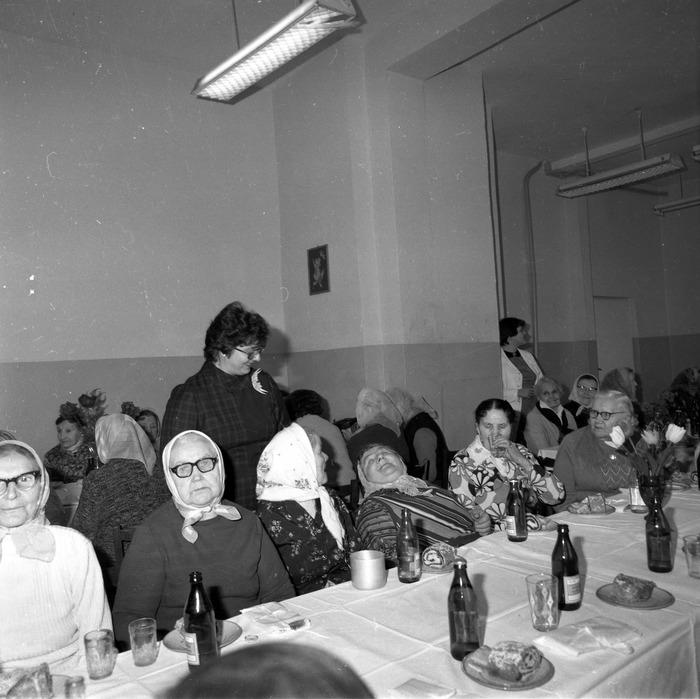 Uroczystość w DPS w Giżycku, 1984 r. [21]