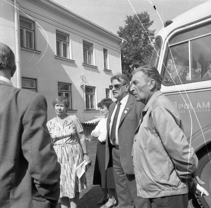 Wizyta delegacji z Giżycka w Trokach, 1987 r. [55]