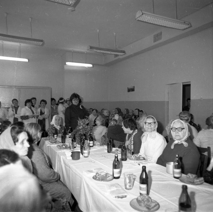 Uroczystość w DPS w Giżycku, 1984 r. [9]