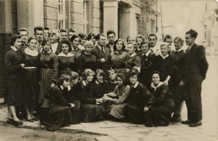 Uczniowie Państwowego Liceum Pedagogicznego w Giżycku