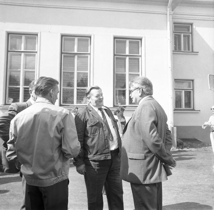 Wizyta delegacji z Giżycka w Trokach, 1987 r. [36]