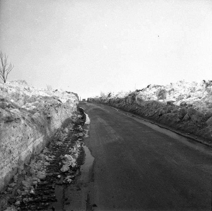 Zima stulecia na mazurskich drogach [1]