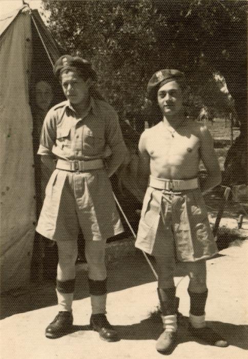Żołnierze 3. Dywizji Strzelców Karpackich we Włoszech [25]