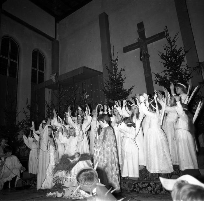 Jasełka w kościele św. Brunona,1978 r. [14]