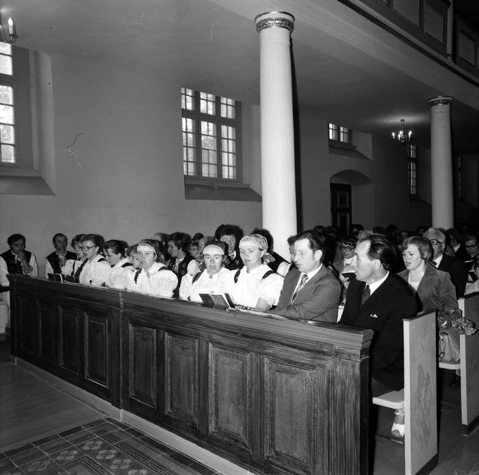 Nabożeństwo w kościele ewangelickim [11]