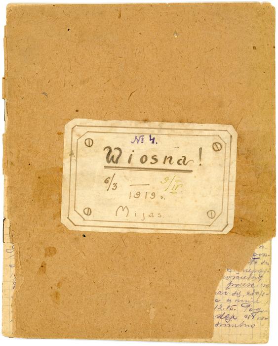 Dziennik wyprawy na Syberię  <br /><br /> Miass<br /><br /> 6.03 - 9.04.1919<br /><br />