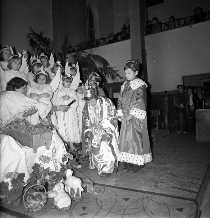 Jasełka w kościele św. Brunona,1977 r. [6]