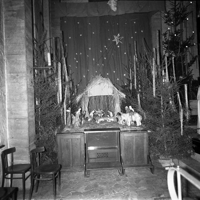 Szopka Bożonarodzeniowa w kościele św. Brunona, 1970 r. [2]