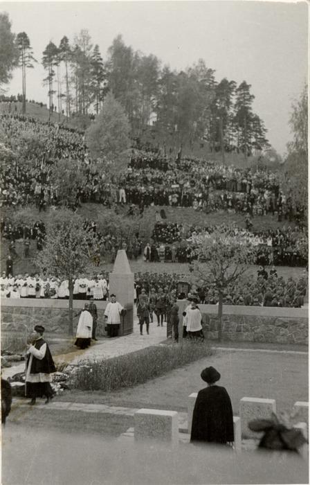 Pogrzeb serca Józefa Piłsudskiego w Wilnie [48]