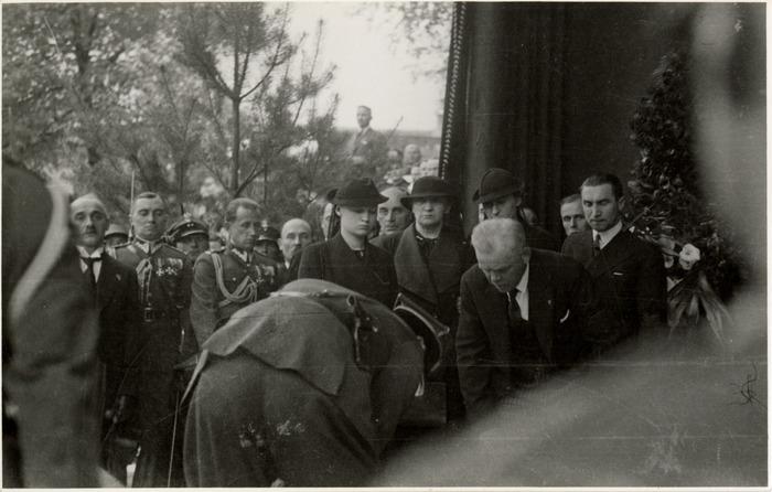 Pogrzeb serca Józefa Piłsudskiego w Wilnie [67]