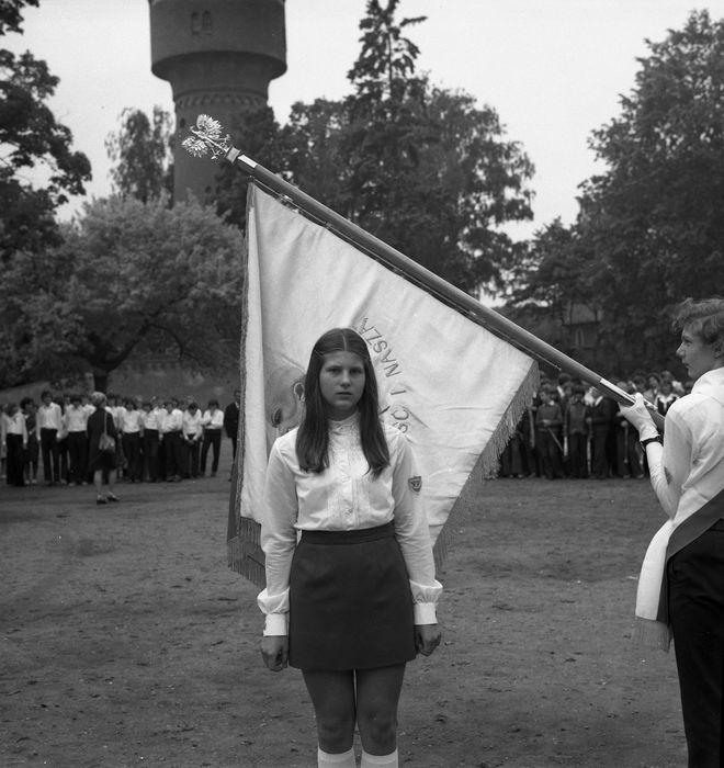 Zakończenie roku w SP nr 2, 1974 r. [15]